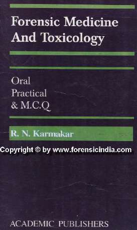 Books In Forensic Medicine In India Www Forensicindia Com